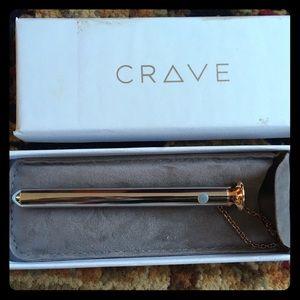 CRAVE Vesper necklace in rose gold
